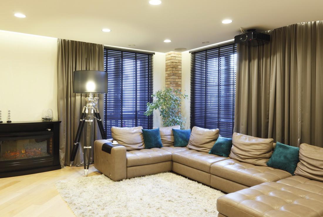 Дизайн-проект гостиной в 4-х комнатной квартире