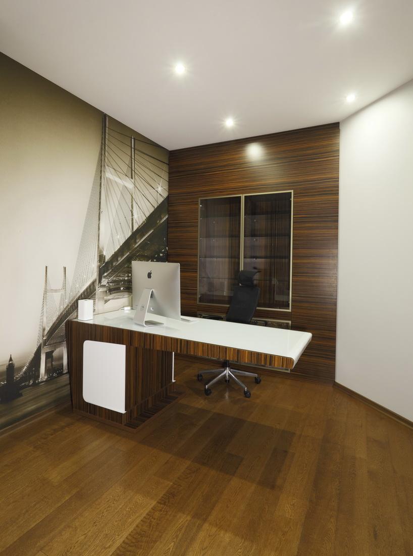 Оформление рабочей зоны в квартире
