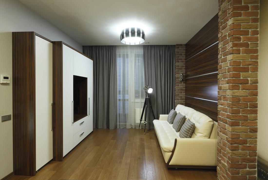Дизайн интерьера кабинета в 4-х комнатной квартире