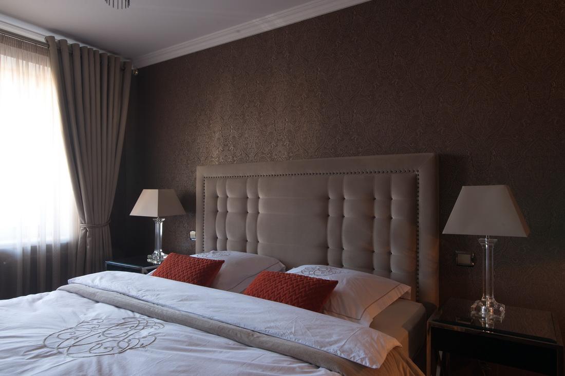 Оформление спальни в стиле современной классики