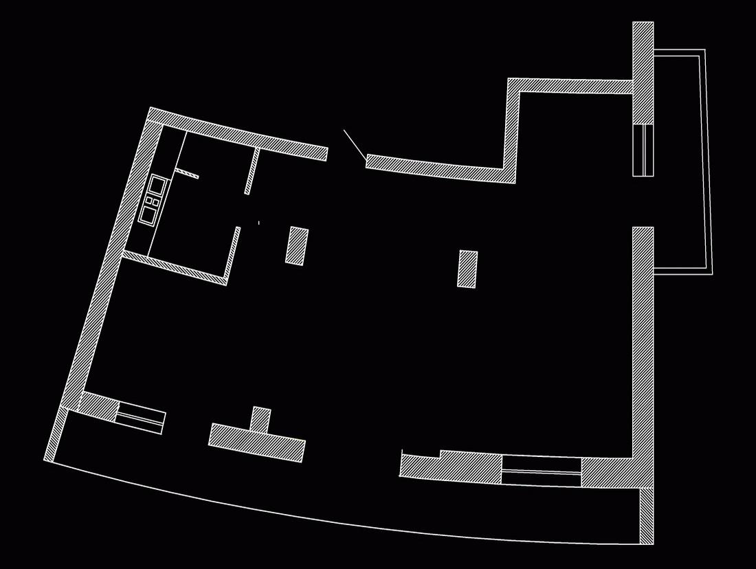 Планировка квартиры в ЖК Парус